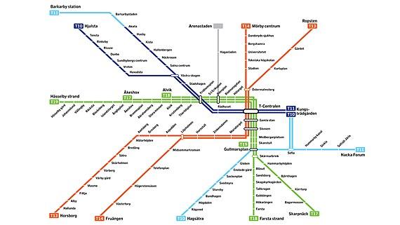 Tunnelbana till Nacka!