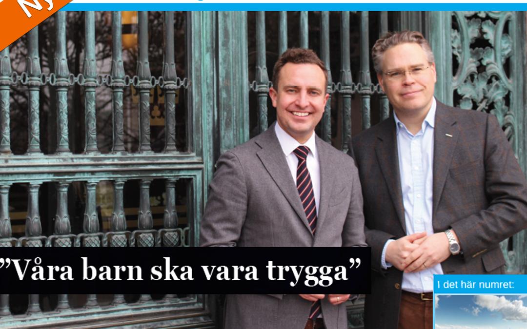 Nytt nummer av Nackabladet